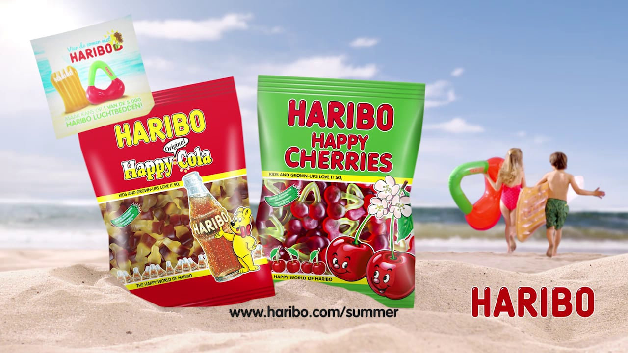Inflatable candy for Haribo