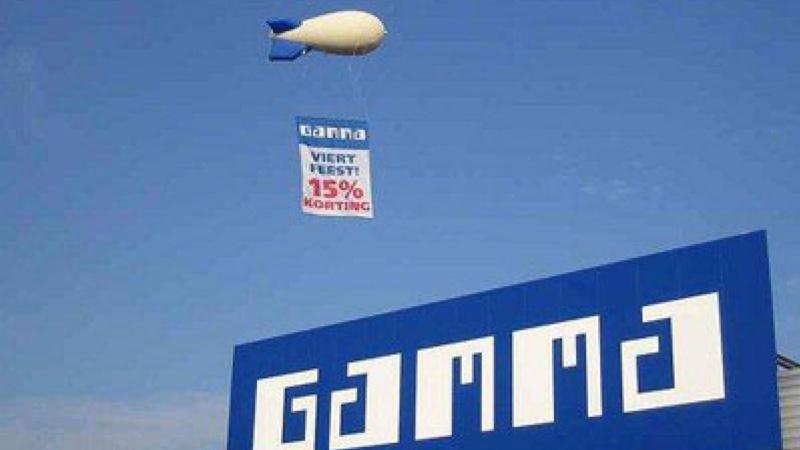 Zeppelin reclame