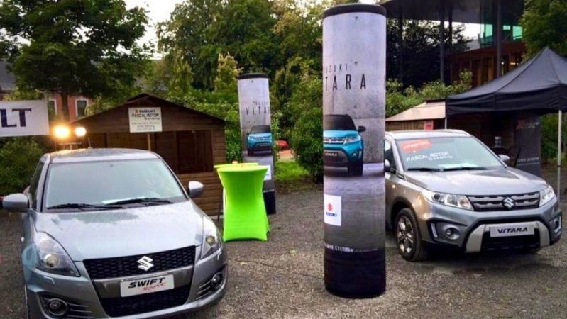 Inflatable pillars