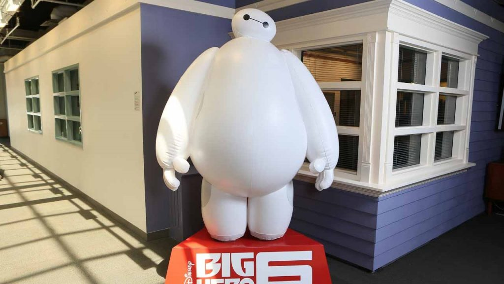 BIG HERO 6 - Publi air for Disney- inflatable character - retail - opblaasbaar karakter - theatre decor, retail displays, winkel displays, display reclame