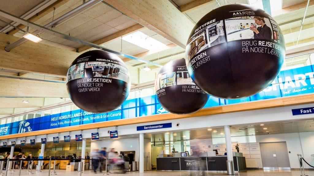 Sphere Publi air opblaasbare ballon